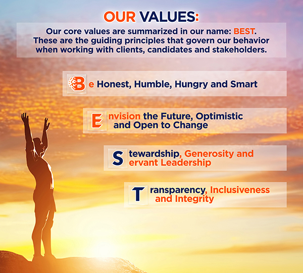 Our BEST Values