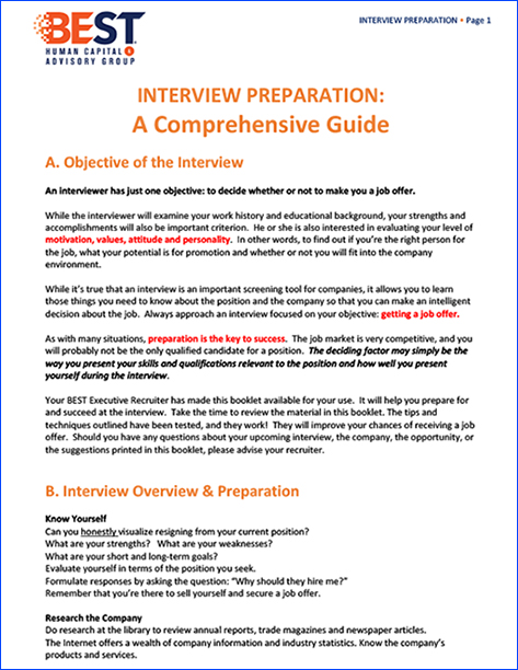 Interview Prep Guide